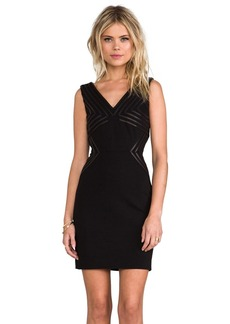 Diane von Furstenberg Glenda Dress in Black