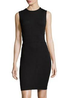 Diane von Furstenberg Gretchen Sleeveless Jersey Dress, Black