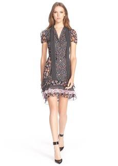 Diane von Furstenberg 'Gypsy' Stretch Silk A-Line Dress