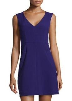 Diane von Furstenberg Halle Sleeveless Jersey Dress, Purple Haze