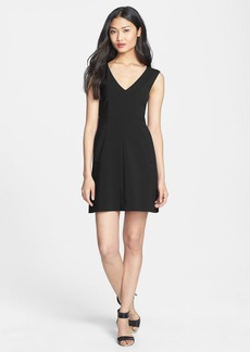 Diane von Furstenberg 'Halle' Stretch Woven A-Line Dress