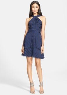 Diane von Furstenberg Halter A-Line Dress
