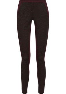 Diane von Furstenberg Harmony lace-appliquéd jersey skinny pants