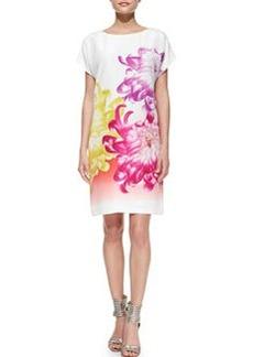 Diane von Furstenberg Harriet Tropical Peony Shift Dress