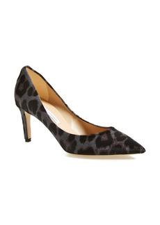 Diane von Furstenberg 'Heather' Calf Hair Pointy Toe Pump (Women)