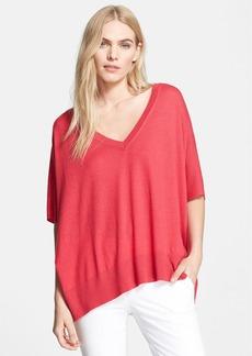 Diane von Furstenberg 'Honey' Silk & Cashmere Pullover