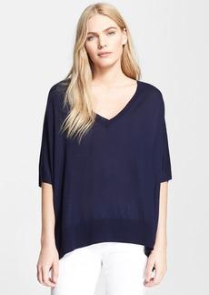 Diane von Furstenberg 'Honey' Silk & Cashmere Sweater