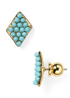 DIANE von FURSTENBERG Honey Stud Earrings
