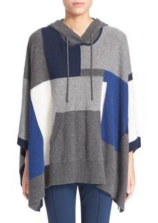 Diane von Furstenberg 'Hudson' Patchwork Hooded Sweater