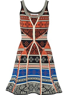 Diane von Furstenberg Ilsa jacquard-knit dress