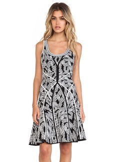 Diane von Furstenberg Ilsa Tank Dress in Black & White