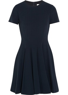 Diane von Furstenberg Imogen pleated crepe mini dress