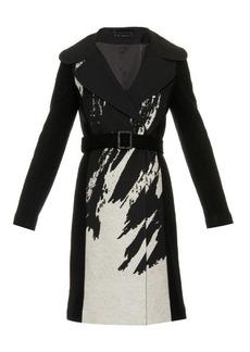 Diane Von Furstenberg Incognito wool-blend coat