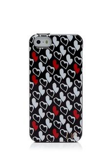 DIANE von FURSTENBERG iPhone 5/5s Case - Heart Print Silicone