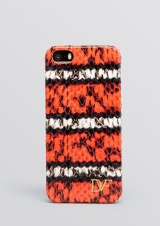 Diane von Furstenberg iPhone 5/5s Case - Snake-Embossed Stripe