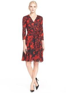 Diane von Furstenberg 'Irina' Floral Print Silk Dress