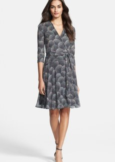 Diane von Furstenberg 'Irina' Print Silk Wrap Dress
