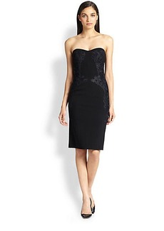 Diane von Furstenberg Isabella Strapless Sheath Dress
