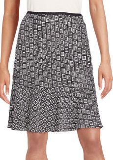 Diane von Furstenberg Isabella Stretch Silk Flutter Skirt