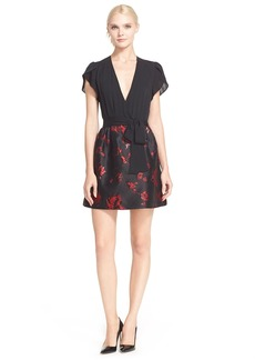 Diane von Furstenberg 'Ivy' Floral Brocade Dress