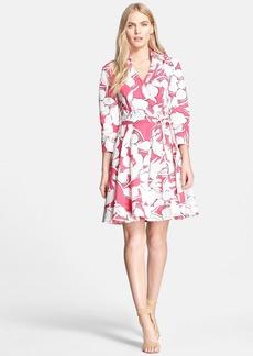 Diane von Furstenberg 'Jadrian' Floral Print Wrap Dress