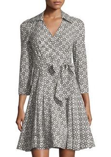 Diane von Furstenberg Jadrian Floral-Print Wrap Dress