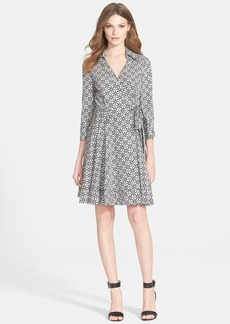 Diane von Furstenberg 'Jadrian' Medallion Print Wrap Dress