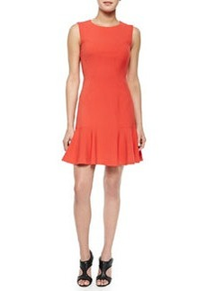 Diane von Furstenberg Jaelyn Flare-Hem Sleeveless Dress