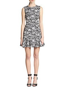 Diane von Furstenberg Jaelyn Jacquard Woven Dress