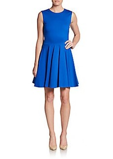 Diane von Furstenberg Jeanne Pleated Dress