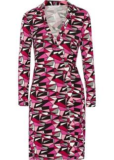 Diane von Furstenberg Jeanne printed jersey wrap dress