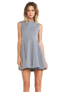 Diane von Furstenberg Jeannie Dress in Blue