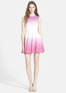 Diane von Furstenberg 'Jeannie' Eyelet Fit & Flare Dress