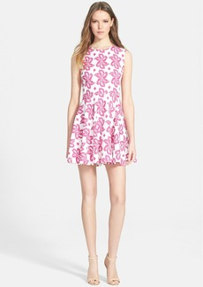 Diane von Furstenberg 'Jeannie' Print Fit & Flare Dress