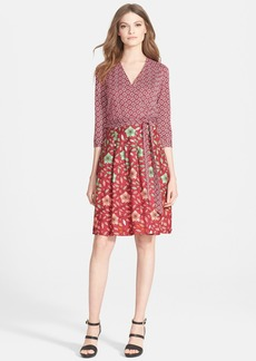 Diane von Furstenberg 'Jewel' Knit Silk Wrap Dress