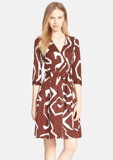 Diane von Furstenberg 'Jewel' Print Wrap Dress