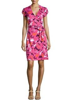 Diane von Furstenberg Jilda Printed Silk Wrap Dress