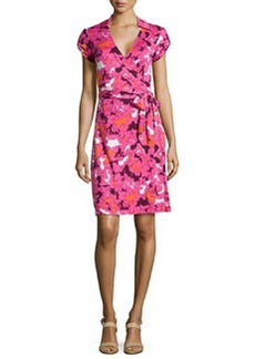 Diane von Furstenberg Jilda Printed Silk Wrap Dress
