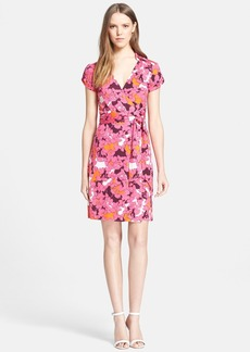 Diane von Furstenberg 'Jilda Two' Floral Print Silk Wrap Dress