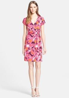 Diane von Furstenberg 'Jilda Two' Floral Print Silk Wrap Dress