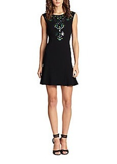 Diane von Furstenberg Jilleigh Embellished Dress