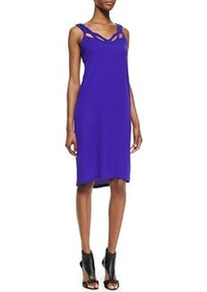 Diane von Furstenberg Jillian Crisscross Strapless Dress