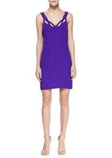 Diane von Furstenberg Jillian Crisscross Strapless Dress