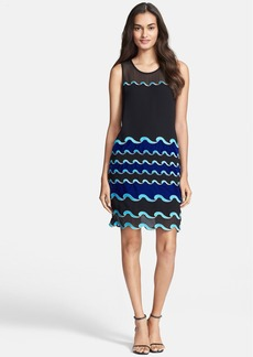 Diane von Furstenberg 'Joan' Embroidered Shift Dress
