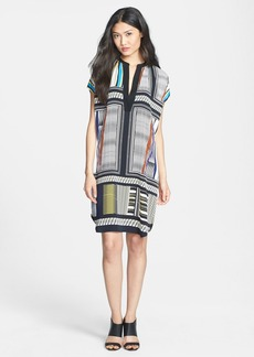 Diane von Furstenberg 'Joanna' Print Silk Shift Dress