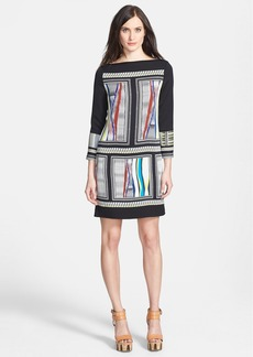 Diane von Furstenberg 'Jocelyn' Print Stretch Silk Shift Dress