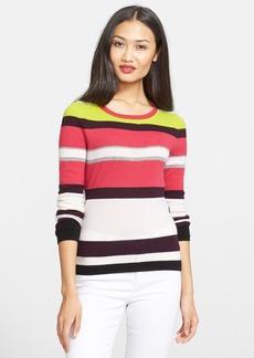 Diane von Furstenberg 'Jolanta' Stripe Cashmere Sweater