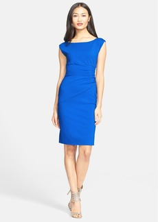 Diane von Furstenberg 'Jori' Ruched Sheath Dress