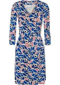 Diane von Furstenberg Julian printed stretch-jersey wrap dress