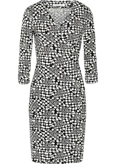Diane von Furstenberg Julian printed stretch-jersey wrap dress